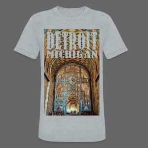Guardian Building - Unisex Tri-Blend T-Shirt by American Apparel