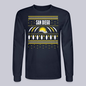 San Diego Ugly Sweater - Men's Long Sleeve T-Shirt