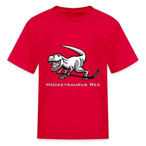 Hockeysaurus Rex Kids T-shirt - Kids' T-Shirt