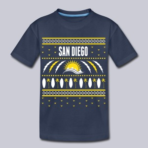 San Diego Ugly Sweater - Toddler Premium T-Shirt