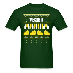 Wisconsin Ugly Sweater - Men's T-Shirt