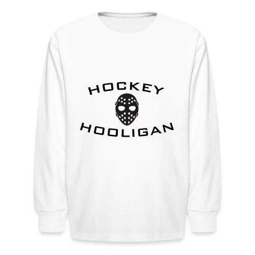 Hockey Hooligan Youth Long Sleeve T-Shirt - Kids' Long Sleeve T-Shirt