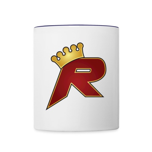 R Mug Outline - Contrast Coffee Mug