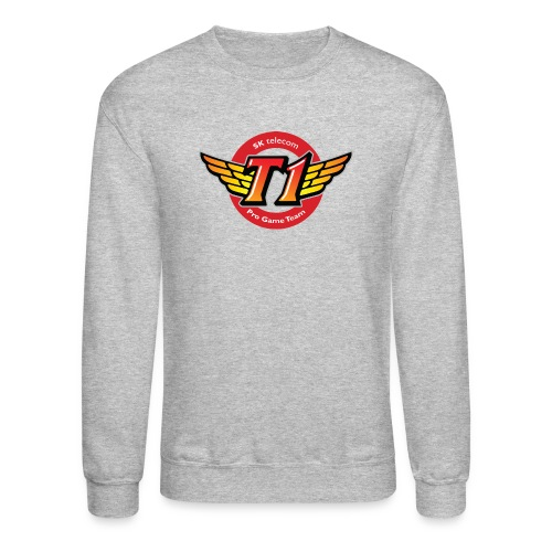 SKT  Logo (best quality ever) - Crewneck Sweatshirt