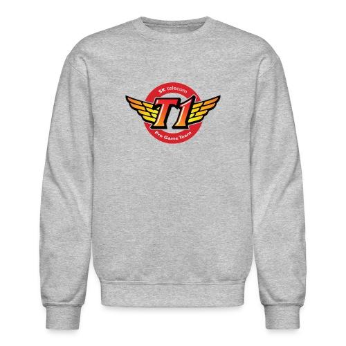 SKT  Logo (best quality ever) - Crewneck Sweatshirt