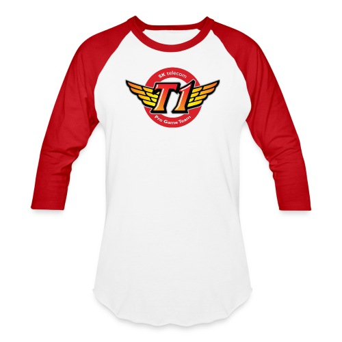 SKT  Logo (best quality ever) - Baseball T-Shirt