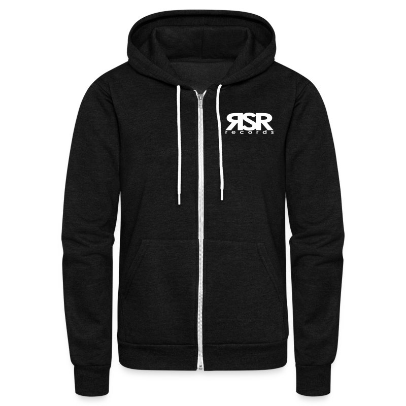 RSR Records Logo - Unisex Fleece Zip Hoodie by American Apparel