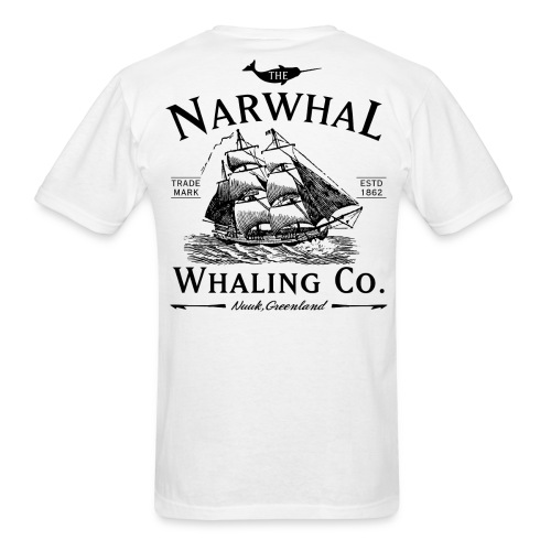 the narwhal co  - Men's T-Shirt