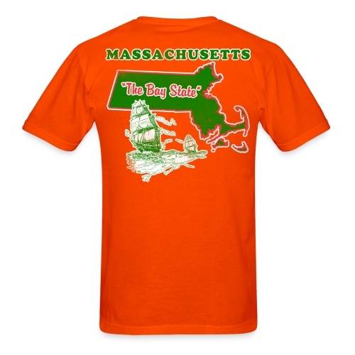 the bay state  - Men's T-Shirt