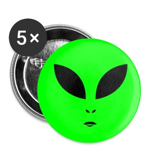 Alien UFO Fest - Small Buttons