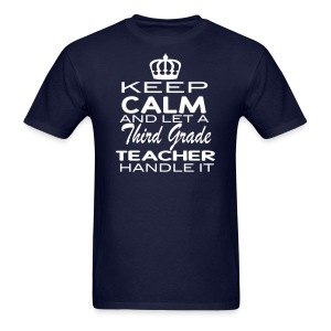 Keep Calm 3rd Men - Men's T-Shirt