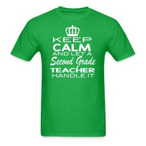Keep Calm 2nd Men - Men's T-Shirt