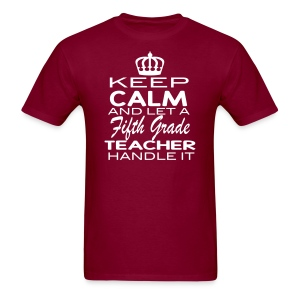 Keep Calm 5th Men - Men's T-Shirt