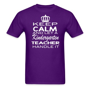 Keep Calm K Men - Men's T-Shirt
