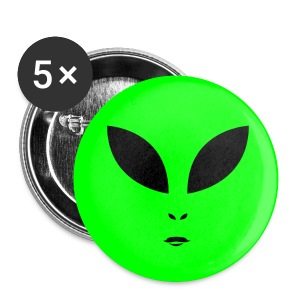 Alien UFO Fest - Large Buttons