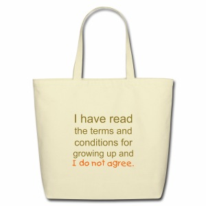 I Have Read the Terms Eco-Friendly Cotton Tote Bag - Eco-Friendly Cotton Tote