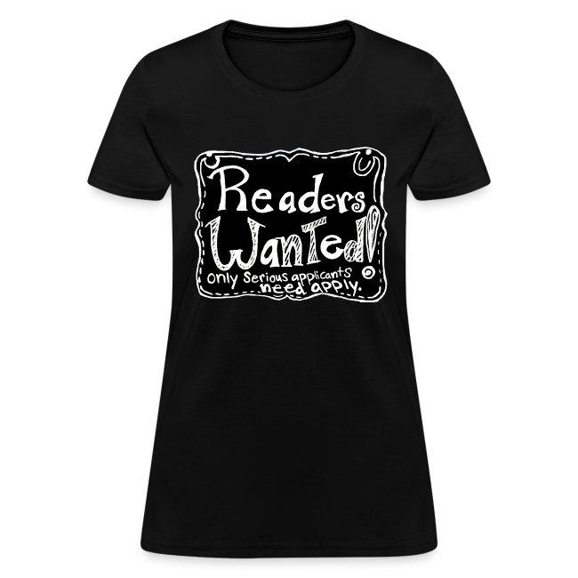 Readers Wanted Women's Tee