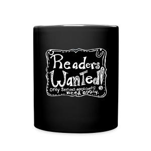 Readers Wanted Cocoa Mug - Full Color Mug