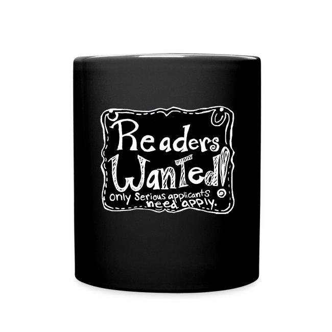 Readers Wanted Cocoa Mug