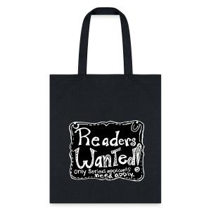 Readers Wanted Tote  - Tote Bag