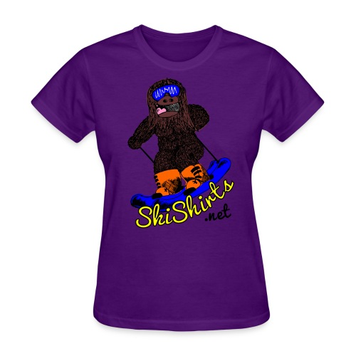 SkiShirts Sasquatch Logo T-Shirt - Women's - Women's T-Shirt