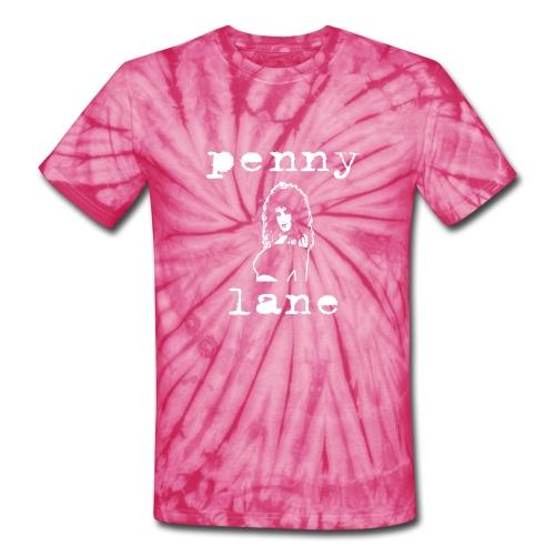 Penny Lane Logo - Unisex Tie Dye T-Shirt