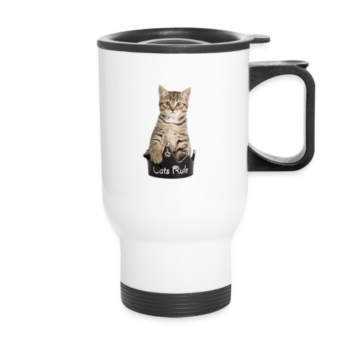 Travel Mug - puppies,pet photography,kittens,gold fish,dogs,dog pictures,cats,cat pictures,Rachael Hale photography,Rachael Hale