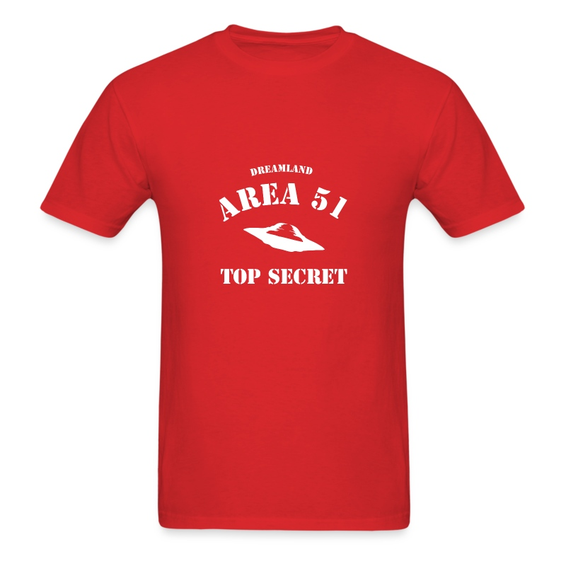 AREA 51 DREAMLAND - Men's T-Shirt