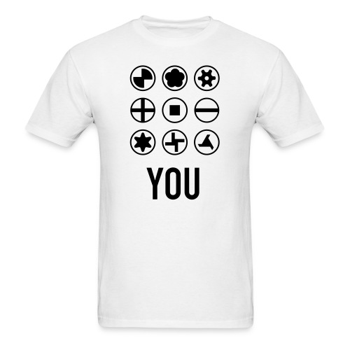Screw You - Men's T-Shirt
