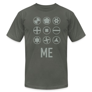 Screw Me - Men's T-Shirt by American Apparel