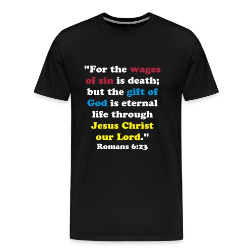 The Wages of Sin - Men's Premium T-Shirt
