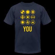 T-Shirts ~ Men's T-Shirt by American Apparel ~ Screw You