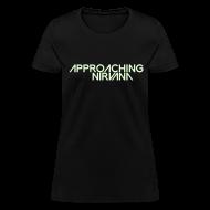 T-Shirts ~ Women's T-Shirt ~ Glow-In-The-Dark AN Logo