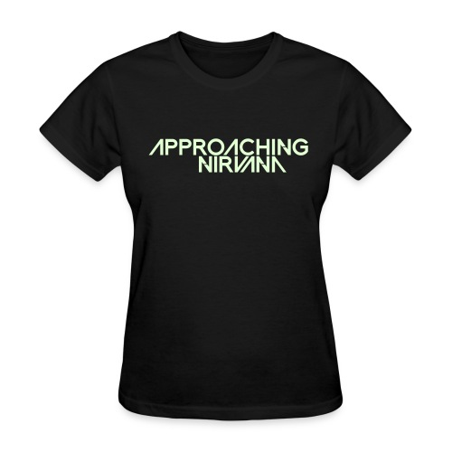 Glow-In-The-Dark AN Logo - Women's T-Shirt