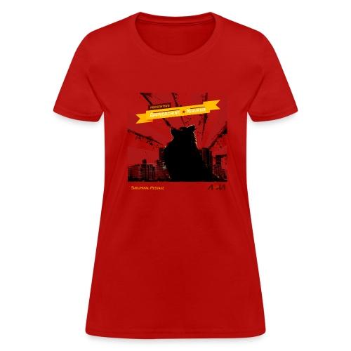 Subliminal Message Album T-shirt - Women's T-Shirt