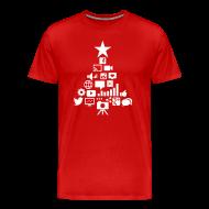 T-Shirts ~ Men's Premium T-Shirt ~ Social Blade Christmas Premium T-Shirt
