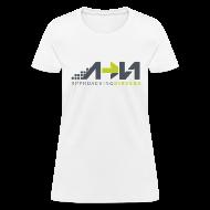 Women's T-Shirts ~ Women's T-Shirt ~ White Arrow Logo
