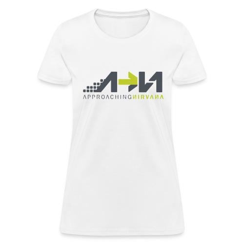 White Arrow Logo - Women's T-Shirt