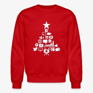 Social Blade Christmas Sweatshirt - Crewneck Sweatshirt