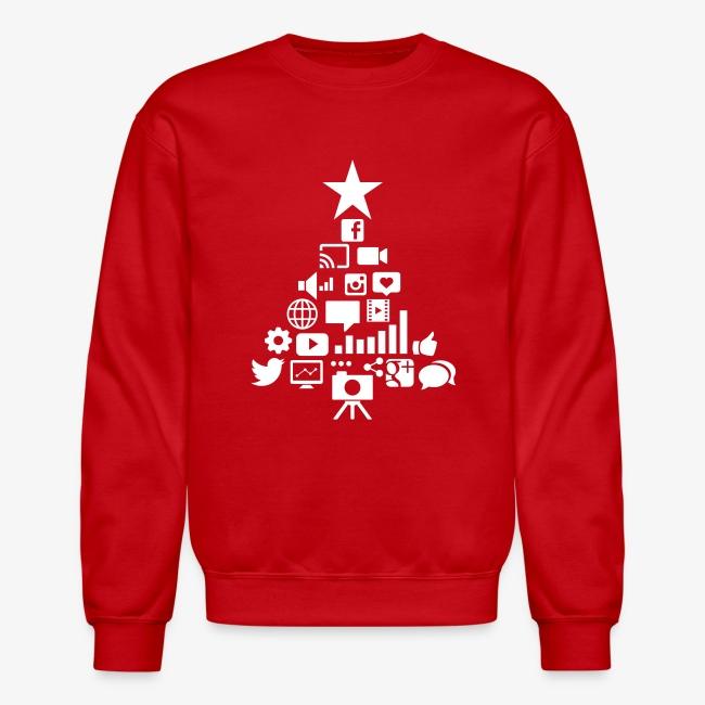 Social Blade Christmas Sweatshirt