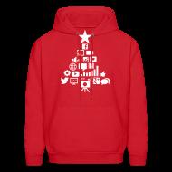 Hoodies ~ Men's Hoodie ~ Social Blade Christmas Hoodie