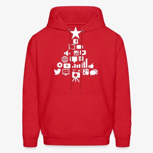 Social Blade Christmas Hoodie - Men's Hoodie