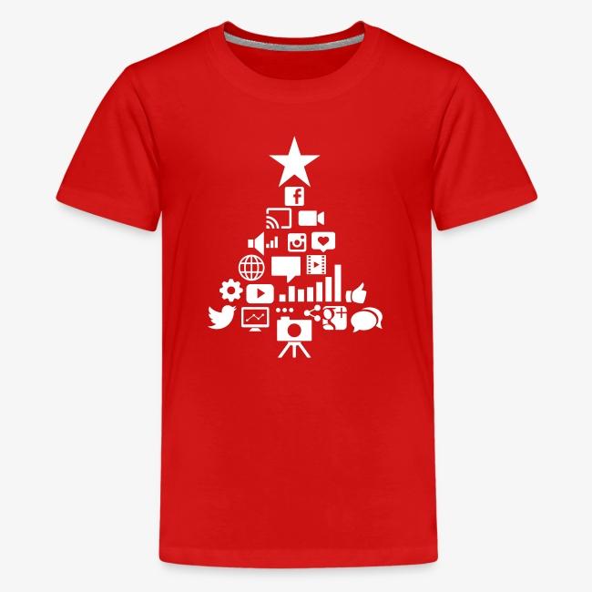 Social Blade Kids Christmas Premium T-Shirt