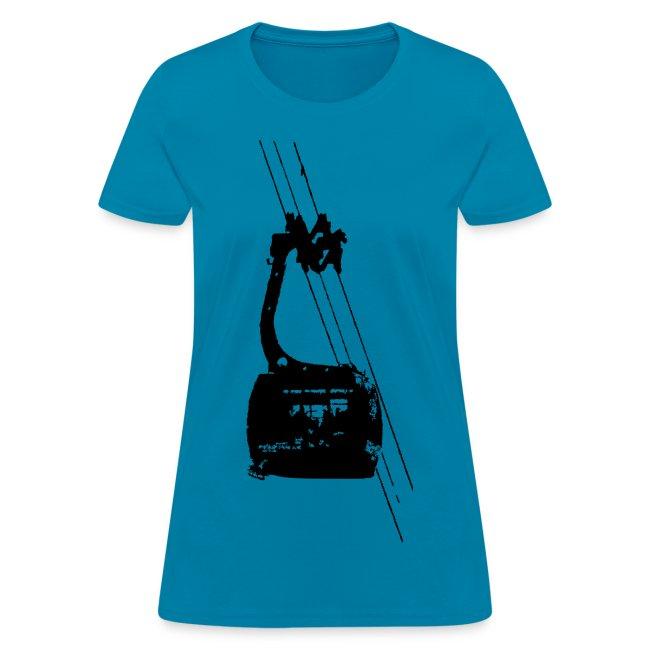 SkiShirts Women's Tram T-Shirt
