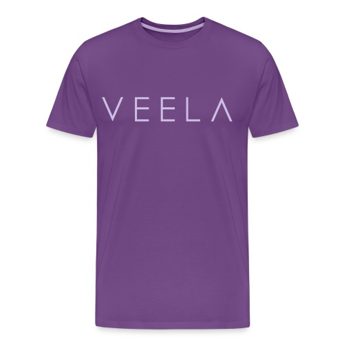 Logo Men's Lavender Ink - Men's Premium T-Shirt