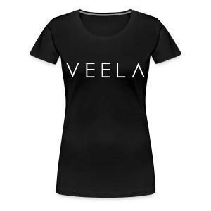 Logo Women's White Ink - Women's Premium T-Shirt