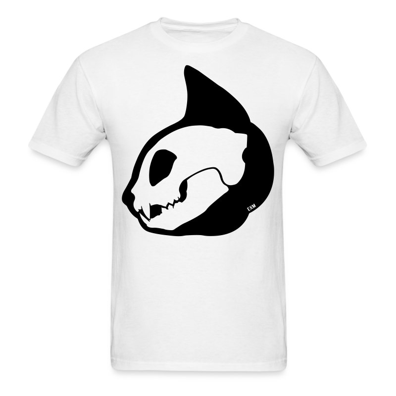 Cat Skull Profile - Men's T-Shirt