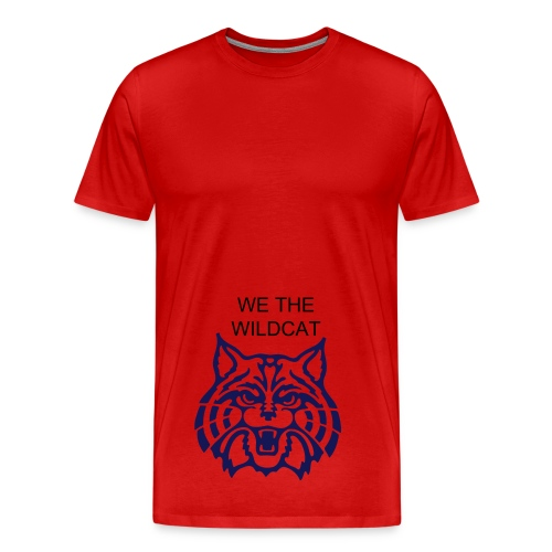 WE THE WILDCAT  - Men's Premium T-Shirt