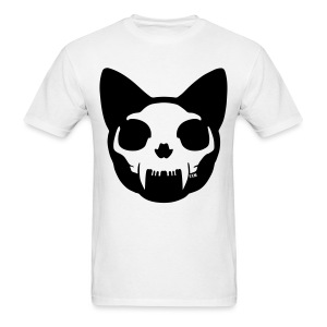 Cat Skull - Men's T-Shirt