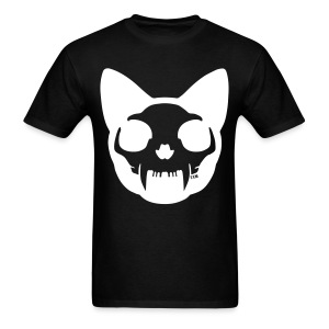 Cat Skull Inverted - Men's T-Shirt
